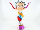 Betty Boop Strikes a Pose in Long Gown - Betty Boop by Britto - Resin Figurine