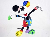 Mickey Mouse Mini Figurine - Arms Outstretched - Disney by Britto - Resin
