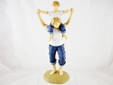 Mommy's Shoulders - Favorite Place - Forever in Blue Jeans - Resin Figurine - Retired