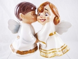 Two Angels - Sweet Kids - Salt and Pepper Shakers - MWAH! - Ceramic