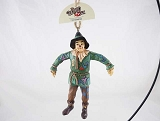 Scarecrow - Hanging Resin Ornament - Wants A Brain - Wizard of Oz by Jim Shore