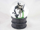 Jack in Village Fountain - Water Globe - Nightmare Before Christmas - Department 56 - 25 Year Anniv
