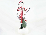 Santa Jack Tangled in Lights - Lights Up! - Nightmare Before Christmas - Department 56 / Disney