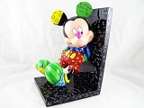 Mickey Mouse Leaning on Single Bookend - Disney by Britto - Resin Figurine