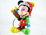Mickey Holiday Mini - Bearing Gifts - Disney by Britto - Resin Figurine