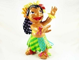 Lilo Dancing the Hula - From Disney's Lilo and Stitch - Disney by Britto - Resin Figurine