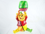 Pooh Bear with Hunny Jar - Pop-Art Winnie the Pooh Mini- Disney by Britto - Resin Figurine