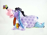 Eeyore Mini with Butterfly on Nose - Pop-Art Colors - Disney by Britto - Resin Figurine