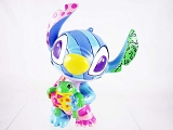 Stitch with Frog Mini Figurine - Lilo & Stitch - Disney by Britto - Resin