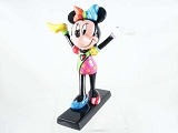 Gymnast Minnie Mouse on Balance Beam - Disney by Britto - Resin Figurine