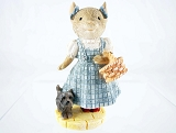 Dorothy Mouse with Toto - Tails with Heart - Wizard of Oz - Heart of Christmas - Resin Figurine