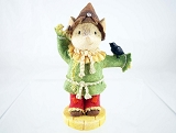 Scarecrow Mouse - Tails with Heart - Wizard of Oz - Heart of Christmas - Resin Figurine