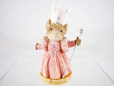 Glinda the Good Witch Mouse - Tails with Heart - Wizard of Oz - Heart of Christmas - Resin Figurine