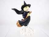 Wicked Witch Mouse - Tails with Heart - 80th Anniversary Wizard of Oz - Heart of Christmas - Resin Figurine