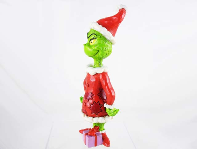 Grinch With Hands On Hips Figurine Dr Seuss How The Grinch Stole Christmas By Jim Shore Resin Figurine