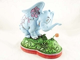 Horton Hears A Who - Smelling a Flower - Resin Figurine - Dr Seuss by Jim Shore