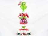 Two-Sided Naughty & Nice Grinch Figurine - Dr Seuss' How The Grinch Stole Christmas - Designed by Jim Shore