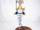 Winter Wonderland Angel - Icicle Shaped Hanging Resin Ornament - Jim Shore Heartwood Creek