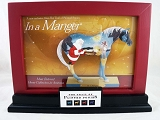 Trail of Painted Ponies Red Wooden Easel and Frame w Picture Card