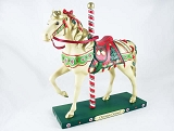 Christmas Carousel Pony - 1E - Holiday 2012 Trail of Painted Ponies - Resin Figurine - Retired