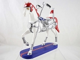 EZ Rider - Motorcycle Pony - Happy Trails - Trail of Painted Ponies - Resin Figurine - Retired