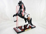 Horse Play - Fun and Games - 1E - Spring 2012 Trail of Painted Ponies - Resin Figurine - Retired