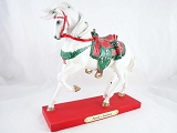Santa's Stallion Pony - 1E - Holiday 2013 Trail of Painted Ponies - Resin Figurine