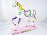 The Prairie Princess Pony - Pioneer Women - 1E -  Fall 2013 Trail of Painted Ponies - Resin Figurine - Retired