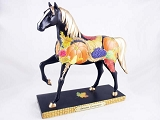 Autumn Cornucopia Pony - 1E - Autumn 2014 Trail of Painted Ponies - Resin Figurine - Retired