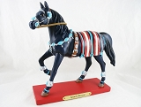 Squash Blossom Pony - Navajo Tribe - 1E - Winter 2015 Trail of Painted Ponies - Resin Figurine