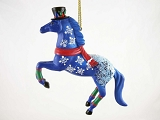 Jack Frost Hanging Resin Ornament - Winter - Holiday 2015 Trail of Painted Ponies