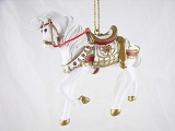A Royal Holiday - Hanging Resin Ornament - Holiday 2015 Trail of Painted Ponies
