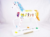 Children's Prayers for the World - Spring 2015 Trail of Painted Ponies - Resin Figurine