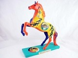 Horse of the Rising Sun - 1E - Summer 2015 Trail of Painted Ponies - Native American Tribal Collection - Resin Figurine