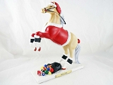 Santa Pony - Santa's Helper - 1E - Holiday 2014 Trail of Painted Ponies - Resin Figurine