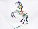 Song of the Cardinal Pony - 1E - Holiday 2016 - Trail of Painted Ponies - Resin Figurine - Ret