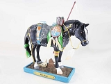War Magic Pony - Spiritual Battle - Native - 1E - Fall 2018 Trail of Painted Ponies - Resin Figurine