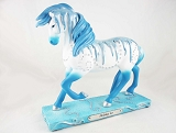 Holiday Ice Pony - Wintry Icicles - 1E - Holiday 2019 Trail of Painted Ponies - Resin Figurine