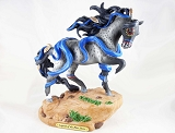 Legend of the Blue Horse Pony - Prairie Storms - Summer 2019 Trail of Painted Ponies - Native - Resin