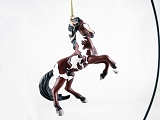 Dance of the Mustang - Hanging Resin Ornament - 2020 Collectors Choice - Trail of Painted Ponies