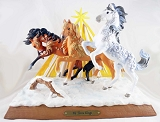 We Three Kings Showpiece - Gifts From Christ - Holiday 2020 - Trail of Painted Ponies - Figurine