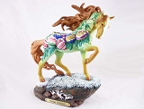Vintage Christmas - Traditional Decorations - Holiday 2020 - Trail of Painted Ponies - Figurine
