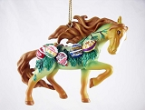 Vintage Christmas - Hanging Resin Ornament - Holiday 2020 - Trail of Painted Ponies