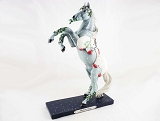 Mistletoe Kisses Pony - Polar Bear Smooch - Holiday 2020 - Trail of Painted Ponies - Figurine