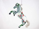 Mistletoe Kisses - Hanging Resin Christmas Ornament - Polar Bears - Holiday 2020 - Trail of Painted Ponies