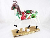 Holiday S'mores & More - 1E - Holiday 2010 Painted Ponies - Retired - Resin Figurine