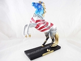 Yankee Doodle - Patriotic Song - 1E - Winter 2014 Trail of Painted Ponies - Resin Figurine