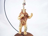 Cowardly Lion - Hanging Resin Ornament - Wizard of Oz by Jim Shore