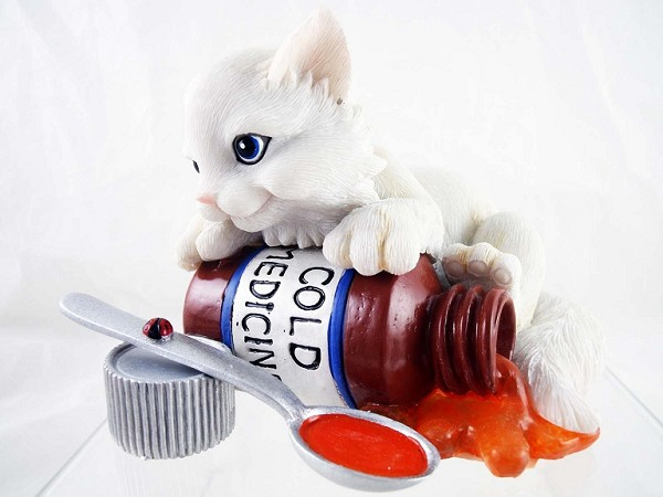 'Friends Through All Sneezes' - Charming Purrsonalities - Resin Figurine