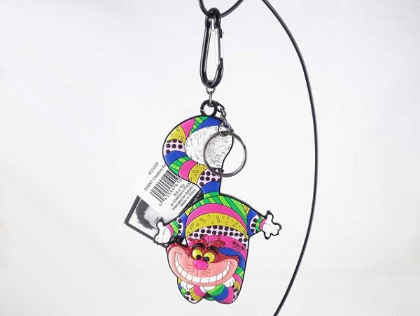 Cheshire Cat Soft Vinyl Keychain - Pop-Art Colorful - Disney by Britto